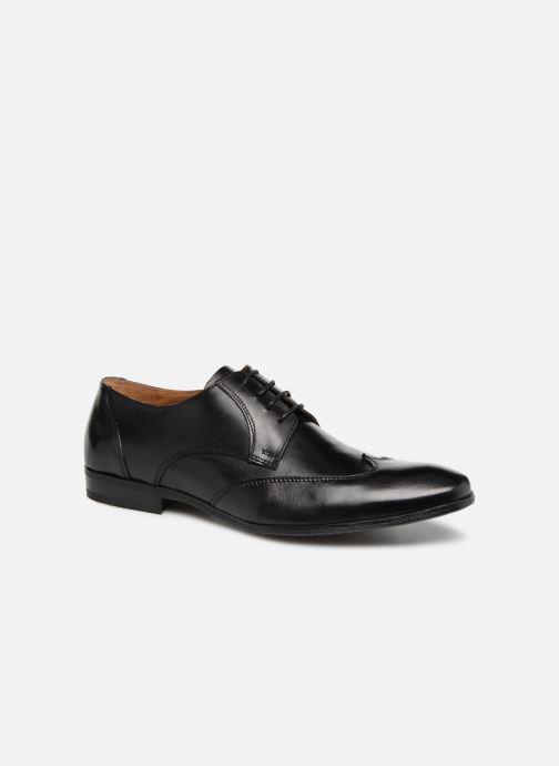 Chaussures à lacets Marvin&Co Newheart Noir vue détail/paire