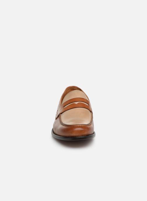 Mocassins Marvin&Co Nassino Beige vue portées chaussures