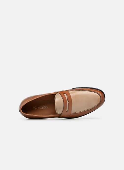 Loafers Marvin&co Nassino Beige view from the left