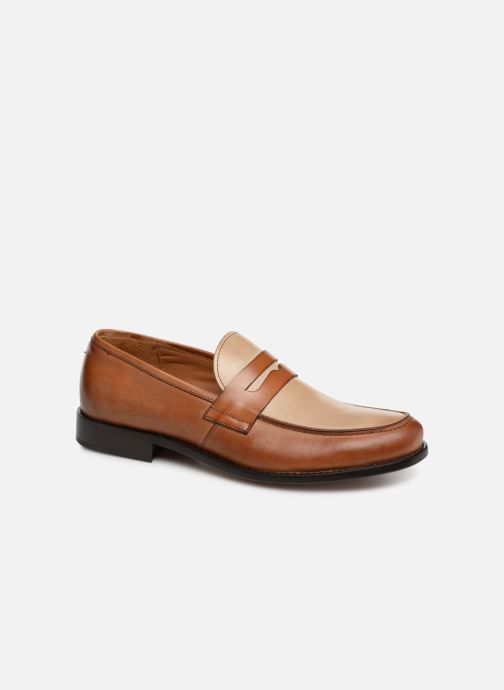 Loafers Marvin&co Nassino Beige detailed view/ Pair view