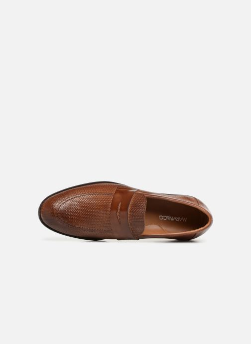 Loafers Marvin&co Nitress Brown view from the left