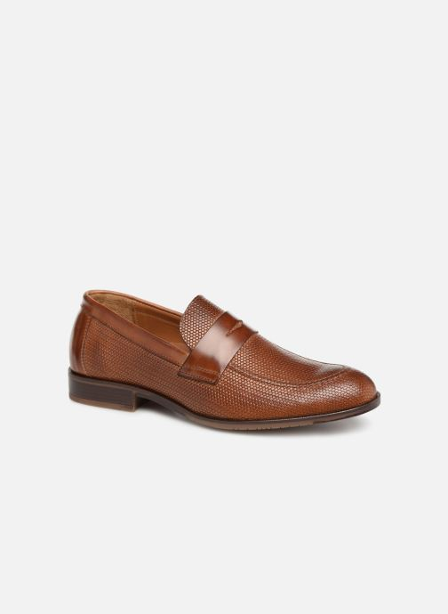 Loafers Marvin&co Nitress Brown detailed view/ Pair view