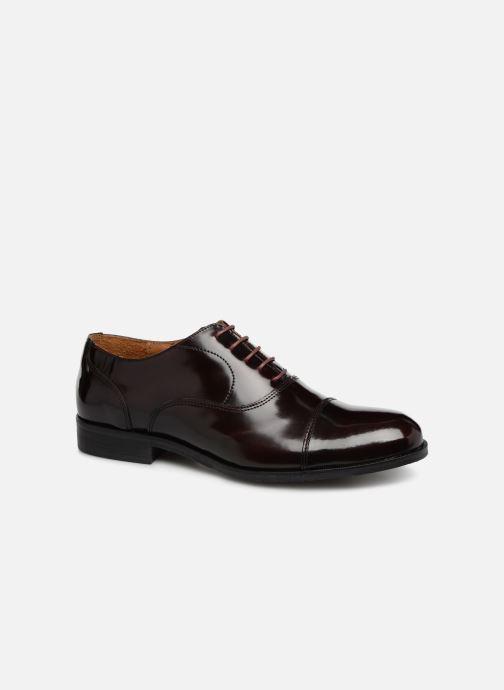 Chaussures à lacets Marvin&Co Nolac Bordeaux vue détail/paire