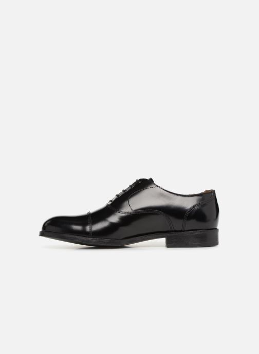 Zapatos con cordones Marvin&Co Nolac Negro vista de frente