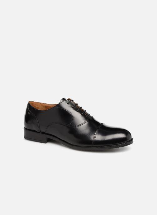 Zapatos con cordones Marvin&Co Nolac Negro vista de detalle / par