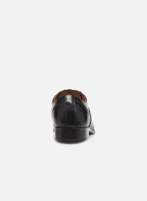 Zapatos con cordones Marvin&Co Newtown Negro vista lateral derecha