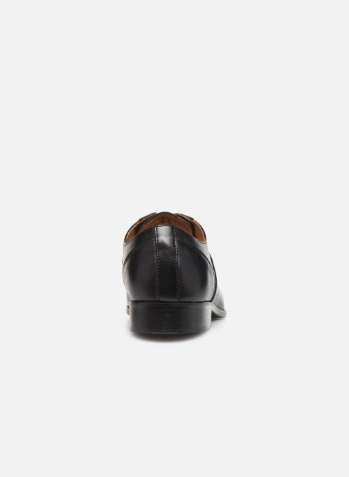 Scarpe con lacci Marvin&Co Newtown Nero immagine destra