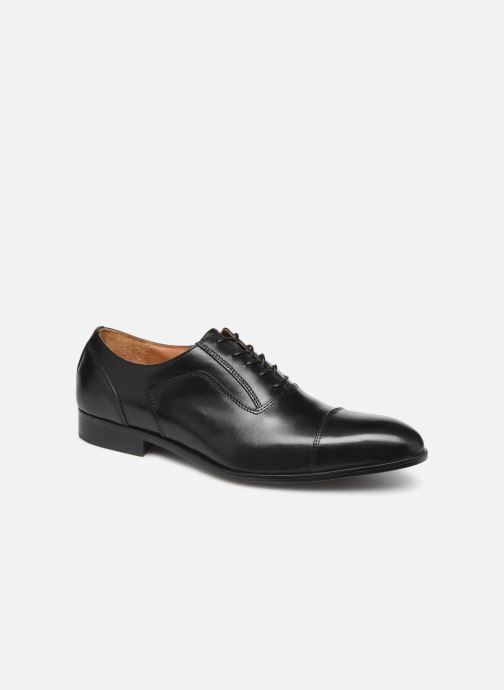 Lace-up shoes Marvin&co Newtown Black detailed view/ Pair view