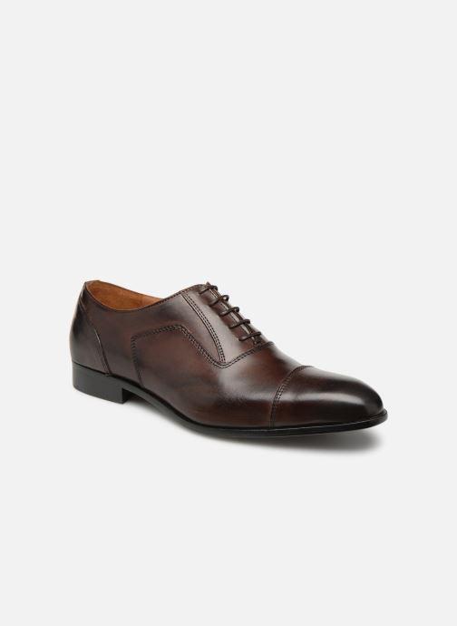 Chaussures à lacets Marvin&Co Newtown Marron vue détail/paire