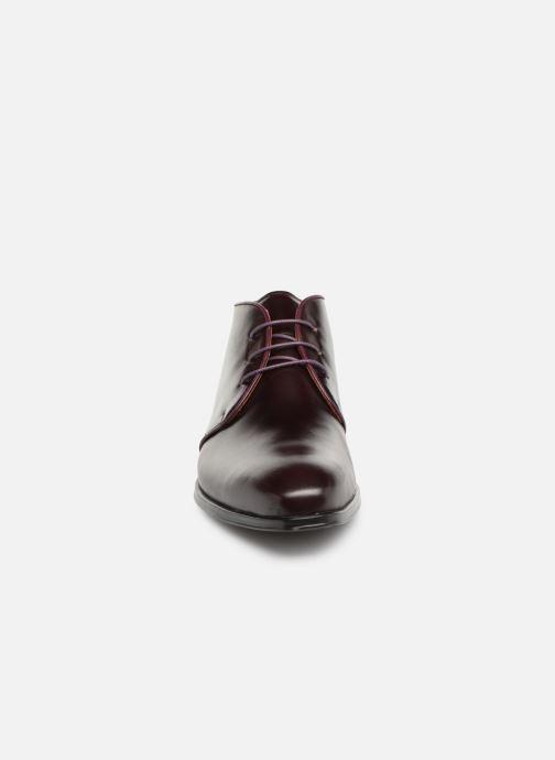 Bottines et boots Marvin&Co Nukka Bordeaux vue portées chaussures