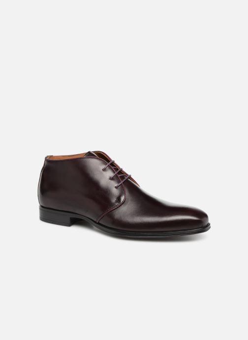 Bottines et boots Marvin&Co Nukka Bordeaux vue détail/paire