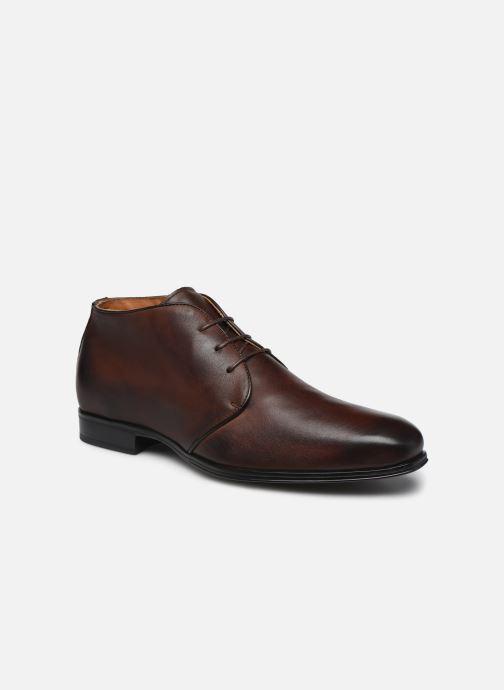 Ankelstøvler Marvin&Co Nukka Brun detaljeret billede af skoene