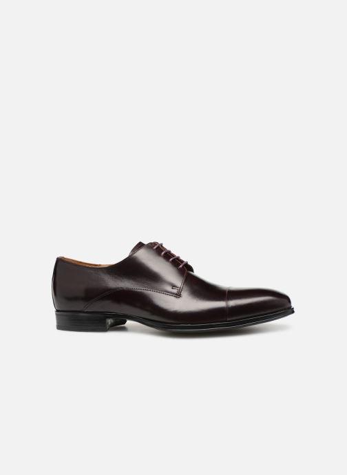 Zapatos con cordones Marvin&Co Newnight Vino vistra trasera