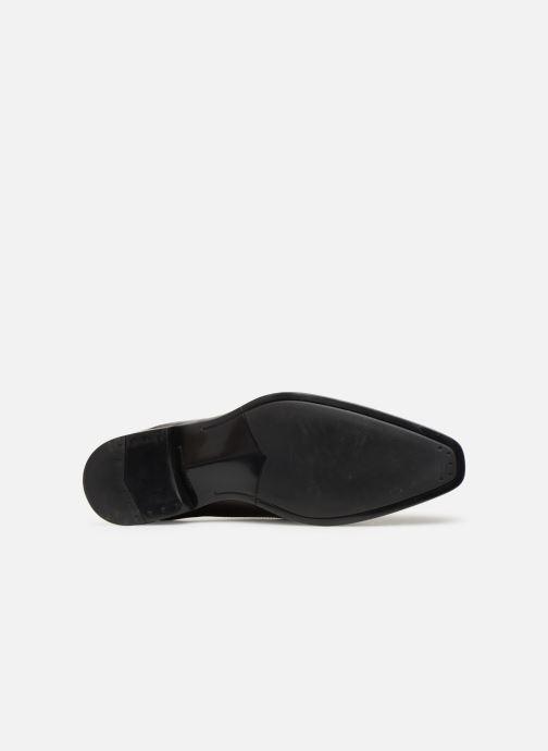 Chaussures à lacets Marvin&Co Newnight Bordeaux vue haut