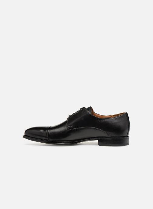 Zapatos con cordones Marvin&Co Newnight Negro vista de frente