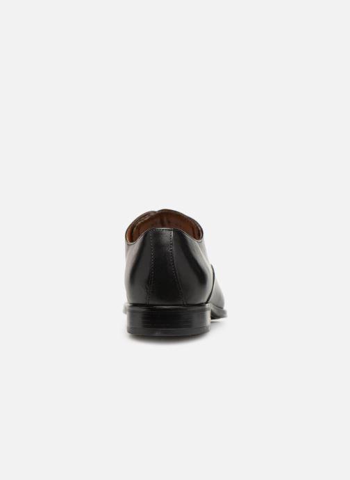 Zapatos con cordones Marvin&Co Newnight Negro vista lateral derecha
