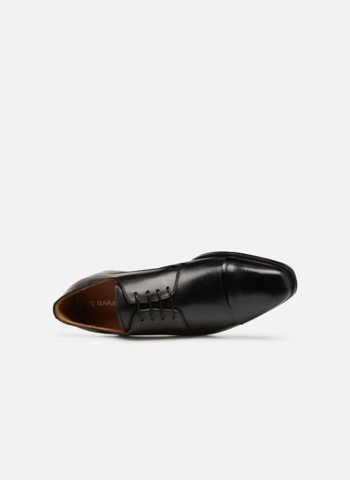 Zapatos con cordones Marvin&Co Newnight Negro vista lateral izquierda