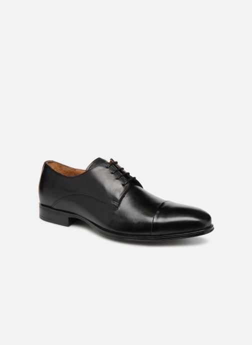 Zapatos con cordones Marvin&Co Newnight Negro vista de detalle / par