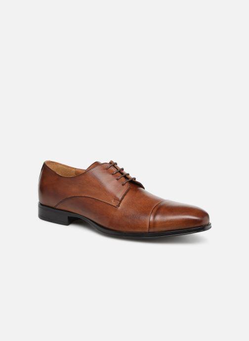 Zapatos con cordones Marvin&Co Newnight Marrón vista de detalle / par