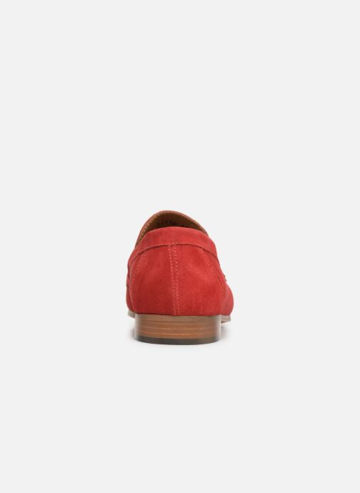 Mocassins Marvin&Co Nimoc Rood rechts