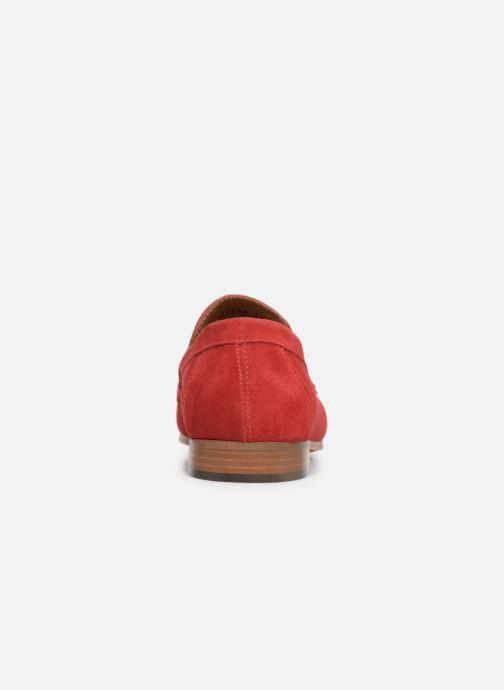 Slipper Marvin&Co Nimoc rot ansicht von rechts