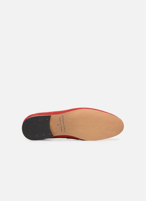 Mocassins Marvin&Co Nimoc Rouge vue haut