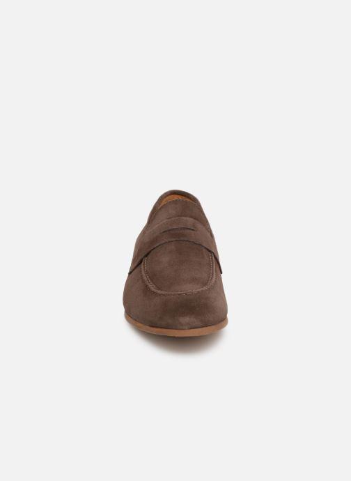 Mocassins Marvin&Co Nimoc Marron vue portées chaussures
