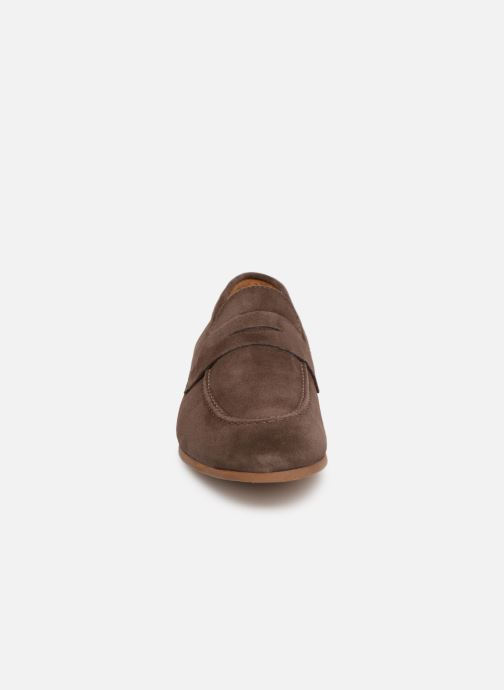 Slipper Marvin&Co Nimoc braun schuhe getragen