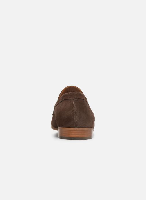 Mocassins Marvin&Co Nimoc Marron vue droite