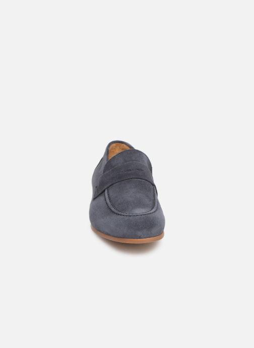 Slipper Marvin&Co Nimoc blau schuhe getragen