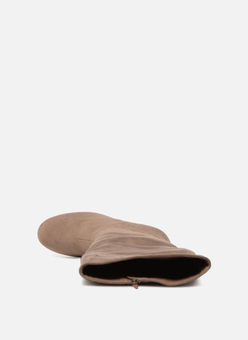 Stiefel Vanessa Wu BT1644 beige ansicht von links