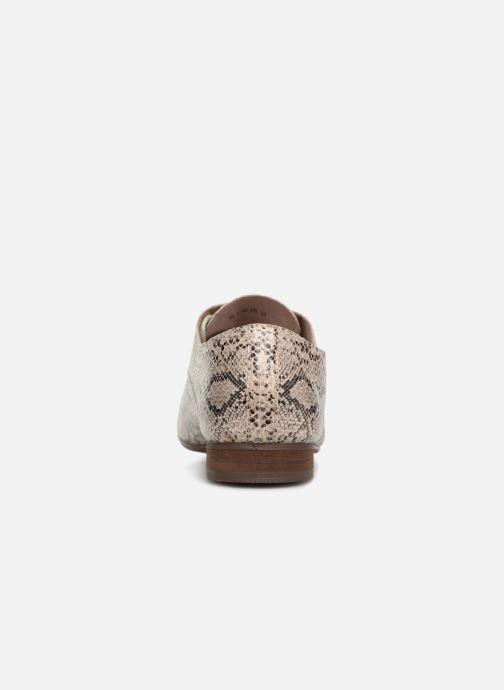Chaussures à lacets Vanessa Wu RL1142 Beige vue droite