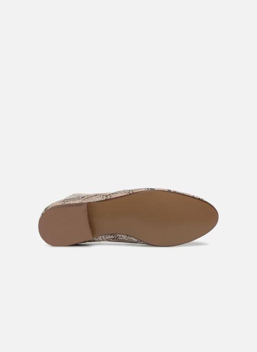 Chaussures à lacets Vanessa Wu RL1142 Beige vue haut
