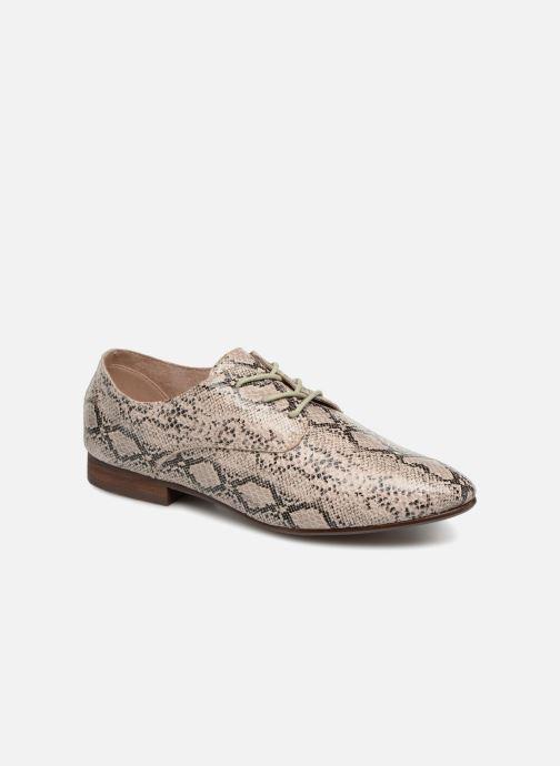 Chaussures à lacets Vanessa Wu RL1142 Beige vue détail/paire