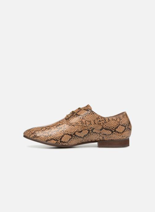 Chaussures à lacets Vanessa Wu RL1142 Marron vue face