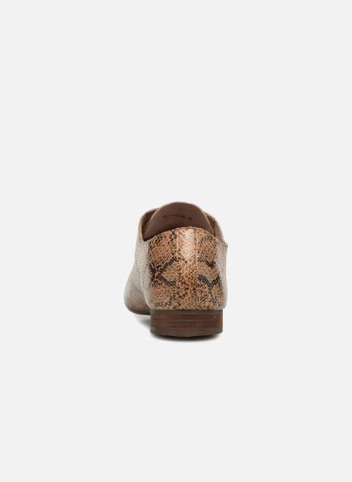 Scarpe con lacci Vanessa Wu RL1142 Marrone immagine destra