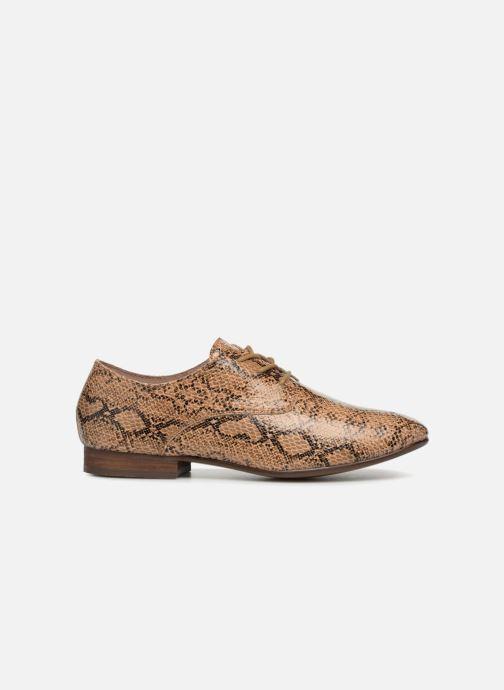 Chaussures à lacets Vanessa Wu RL1142 Marron vue derrière