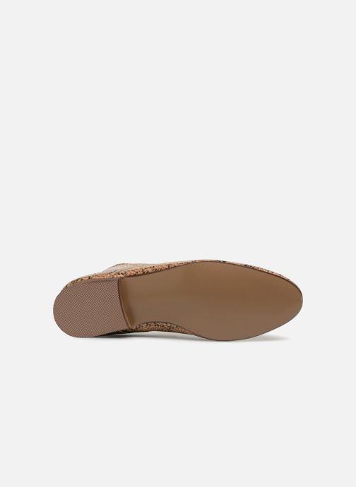 Chaussures à lacets Vanessa Wu RL1142 Marron vue haut