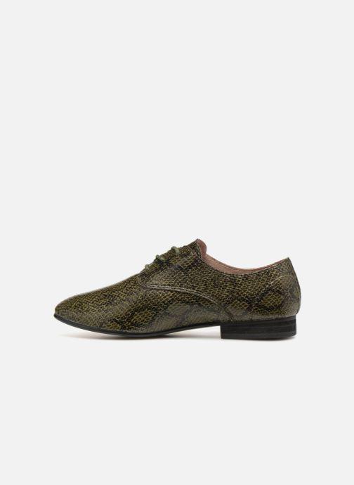 Zapatos con cordones Vanessa Wu RL1142 Verde vista de frente