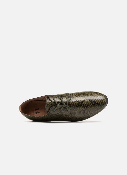 Zapatos con cordones Vanessa Wu RL1142 Verde vista lateral izquierda