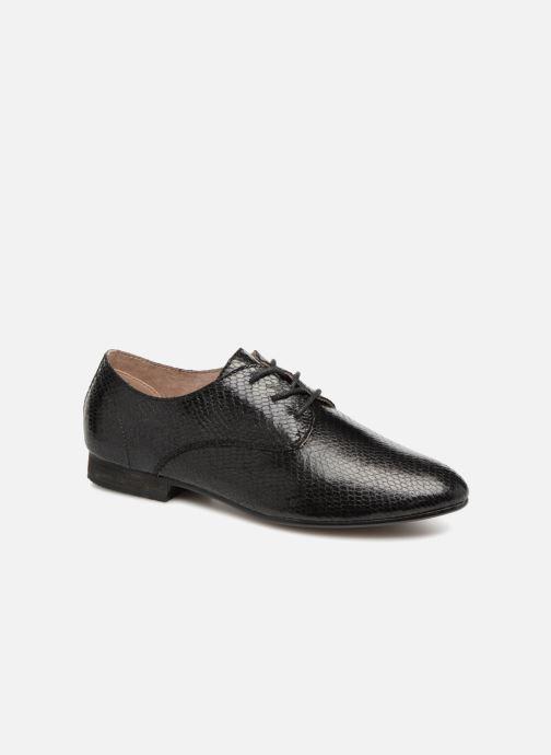 Chaussures à lacets Vanessa Wu RL1142 Noir vue détail/paire