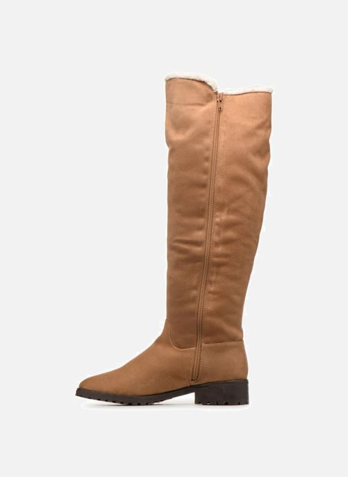 Boots & wellies Vanessa Wu BT1696 Brown front view