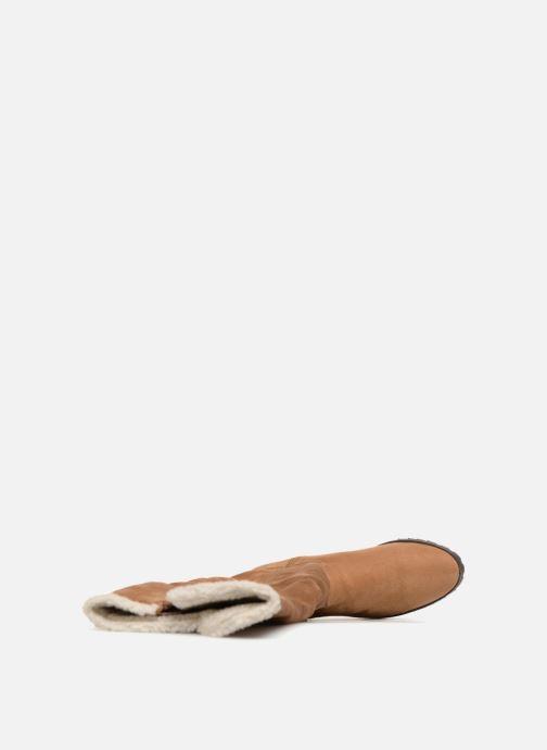 Stiefel Vanessa Wu BT1696 braun ansicht von links