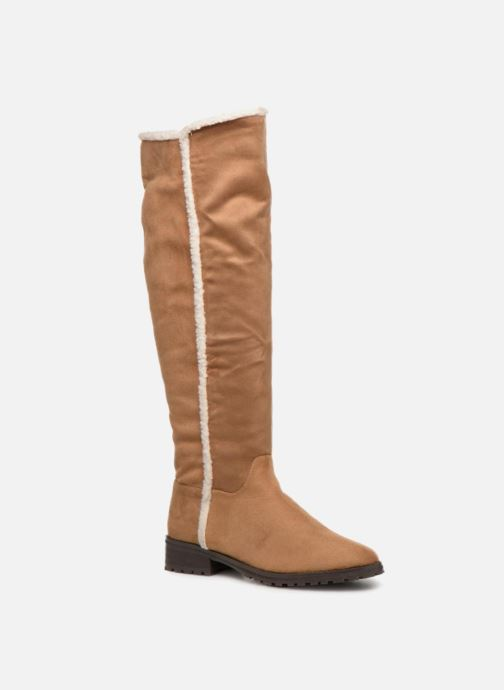 Boots & wellies Vanessa Wu BT1696 Brown detailed view/ Pair view