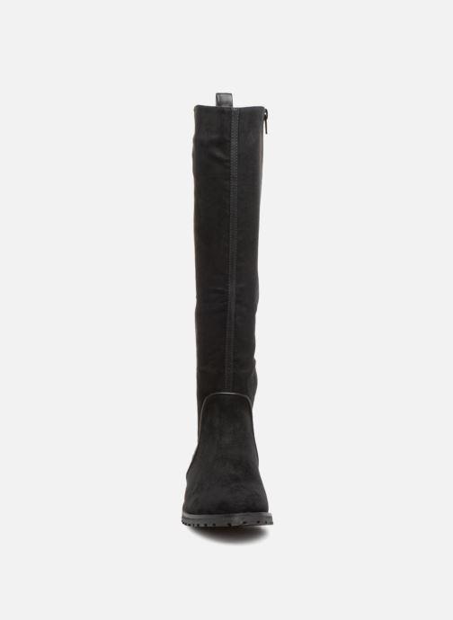 Bottes Vanessa Wu BT1693 Noir vue portées chaussures
