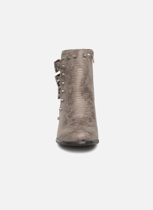 Bottines et boots Vanessa Wu BT1421 Gris vue portées chaussures