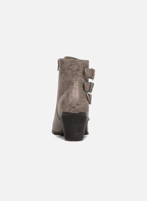 Bottines et boots Vanessa Wu BT1421 Gris vue droite