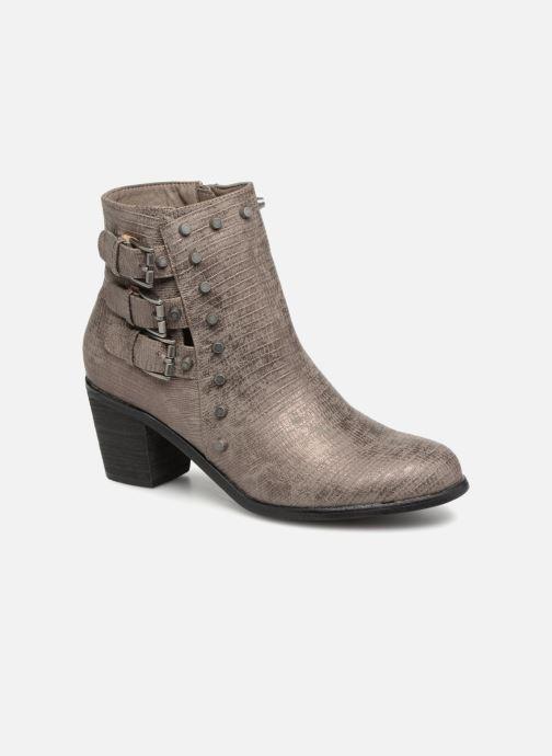 Bottines et boots Vanessa Wu BT1421 Gris vue détail/paire