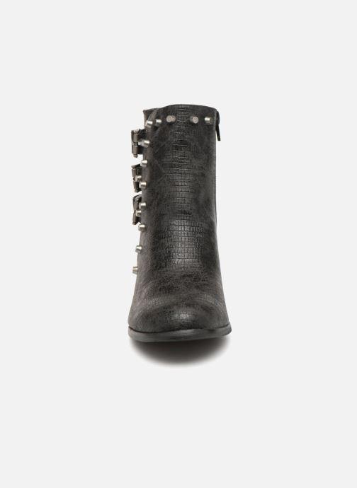 Bottines et boots Vanessa Wu BT1421 Noir vue portées chaussures