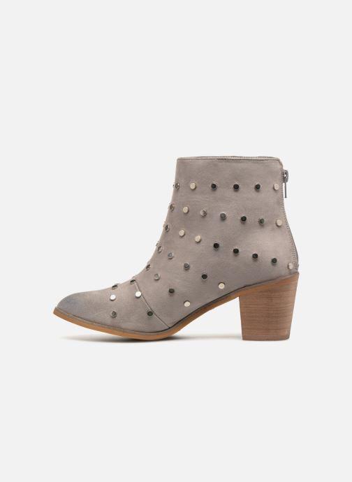 Bottines et boots Vanessa Wu BT1596 Gris vue face